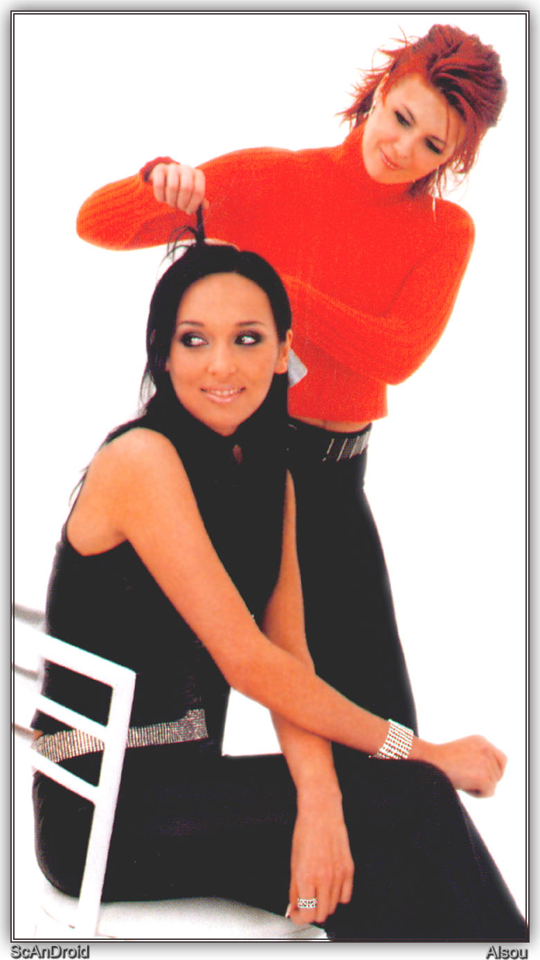 Two girlfriends: Alsou showed younger mother